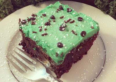 Kale brownie