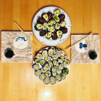 Learn how to make Vegan Sushi & Spring Rolls at our class at RVCC!